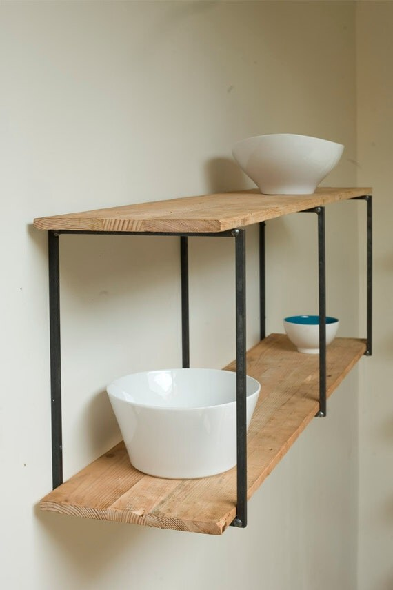Reclaimed, Recycled, and Beautiful Floating Shelves CUSTOM