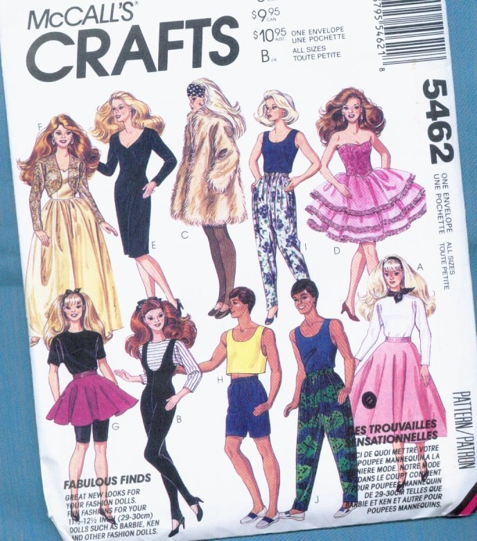 Doll Clothes Patterns — Doll Diaries