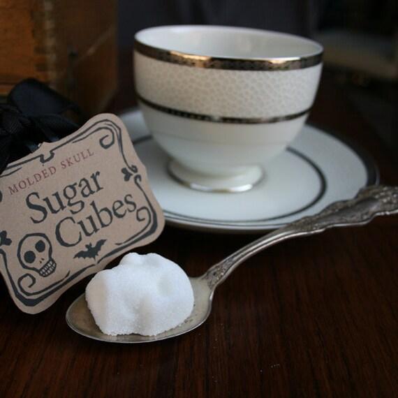 Sugar Cube Skulls - Valentine Gift