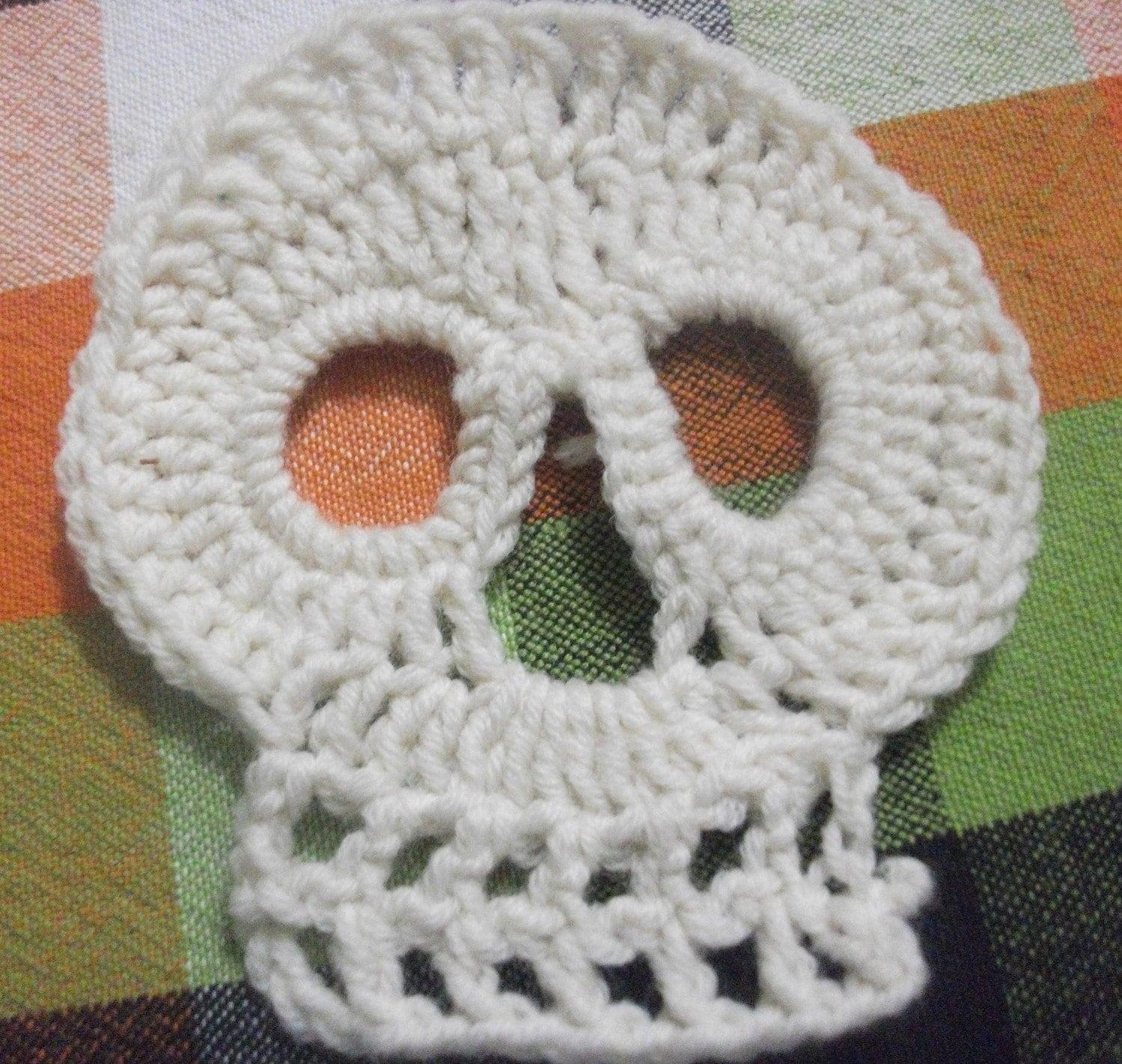 Crochet Patterns Skull : Skull Crochet Pattern
