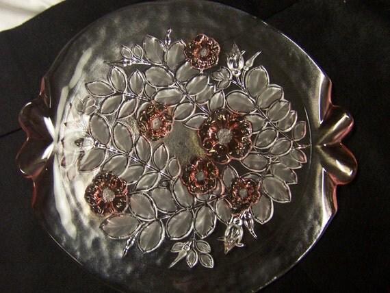 Misaka Cake Plate/Platter, Rosella, pre-1997