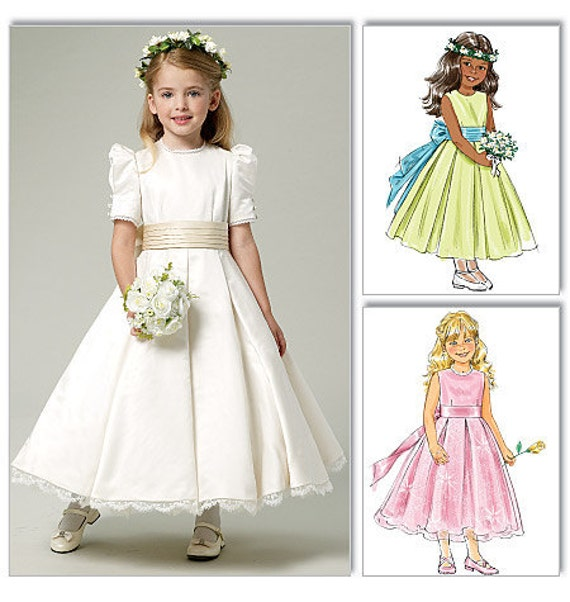 il 570xN.276972314 Flower Girl Dress Sewing Patterns