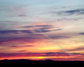 "A High Desert Sunset - An Original 8""X10"" photographic print - Photo by Rachel - RACHPhotography"