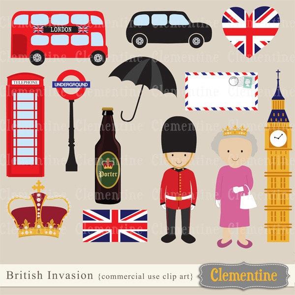 London Clip Art : Lizy b london cookies the inspiration