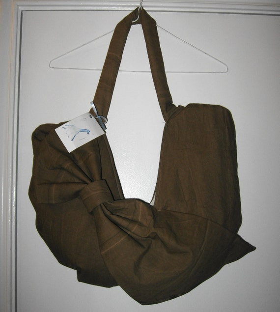 large bow purse