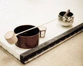 Tatami and Tea - Fine Art Photography print 5x7 - GrainnePhotography