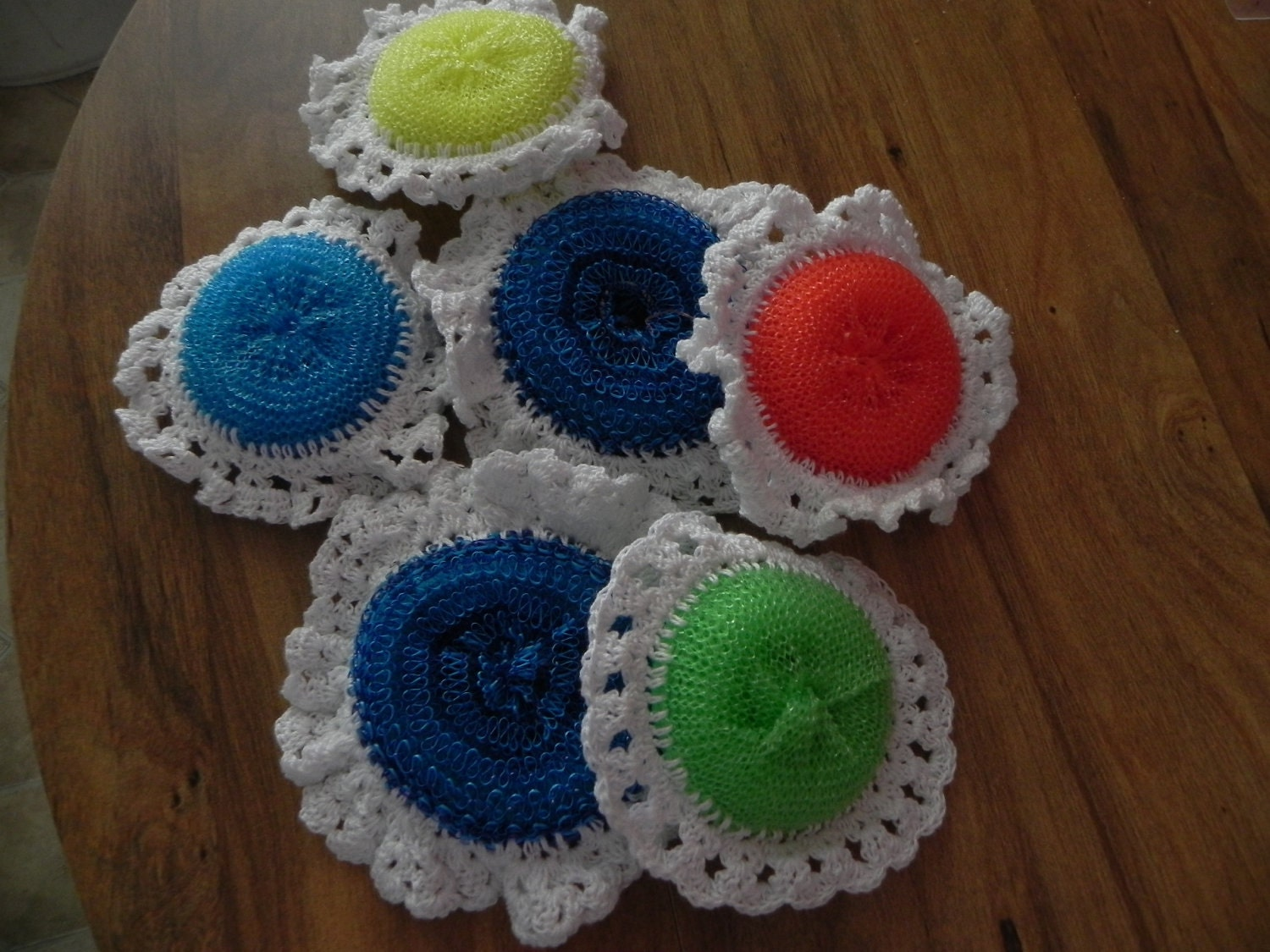 Crocheting Pot Scrubbers : crochet pot scrubber