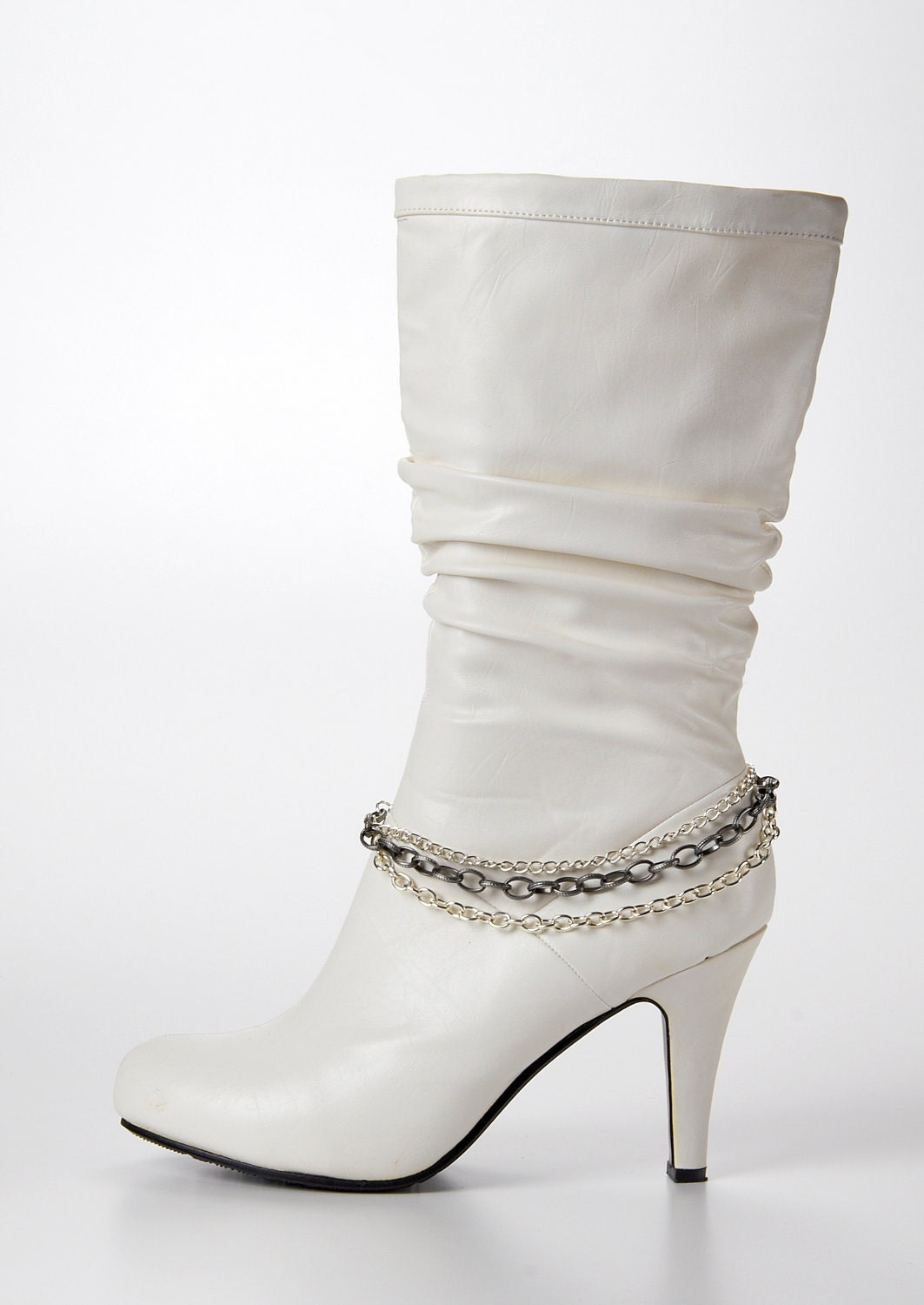 Boot Bracelets on Silver Boot Bling   Jewelry Accent To Your Boots   Boot Jewelry