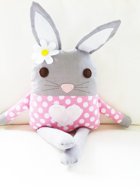 Bunny Sewing Pattern - Bunny Doll Softie Toy - PDF