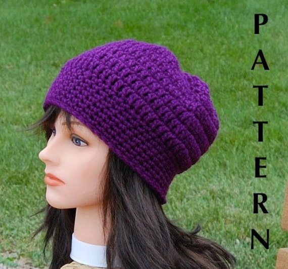 Crochet slouchy hat patterns beginners traitoro for beginner crochet beanie pattern free patterns crochet slouchy hat dt1010fo