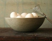 Concrete Bowl Bol Douze French Country - atstuart