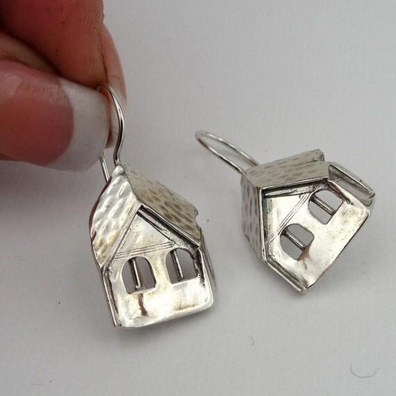 Hadar NEW Handmade Art Sterling Silver Earrings (H)Y