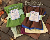 2 Trash Can Cloth Diaper Pail Liners fits Simple Human size A for 2- 4 gallon pail