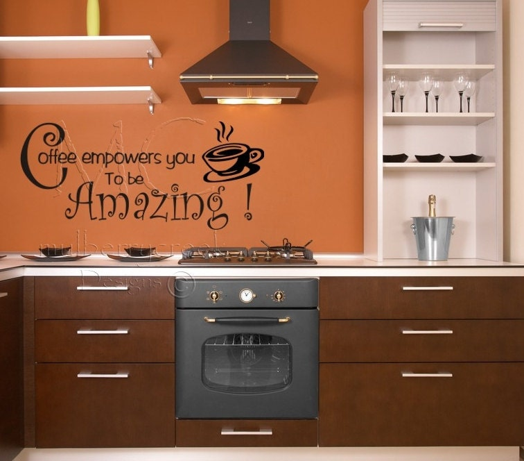 Kitchen quotes wall decals interior decorating for Kitchen cabinets quotation
