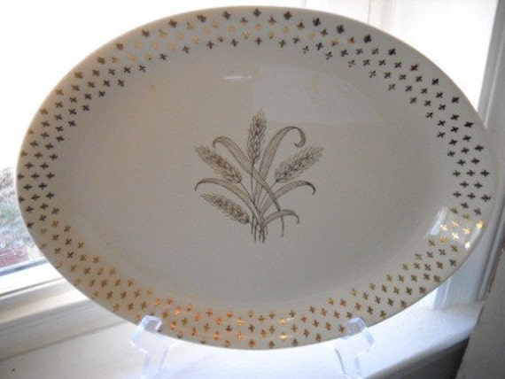 Pattern: GOLDEN WHEAT by VIOLET CHINA [VIOGOW] - Replacements, Ltd.