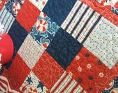 Nautical and NiceTable Topper-Reversible