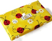 LADYBUGS Switchplate Light Switch Plate Outlet Cover - Yellow Red Black - smijims