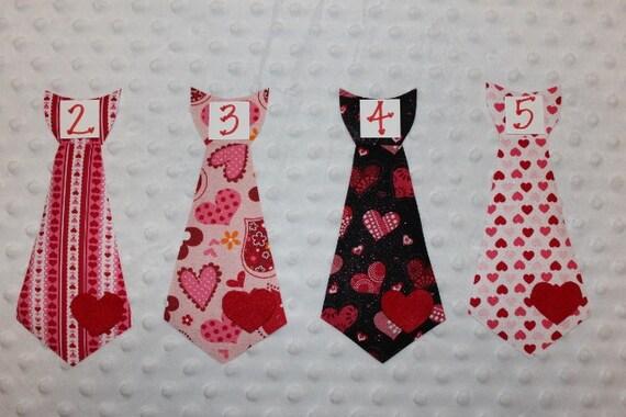 Valentine's Day Tie Onesie/Shirt