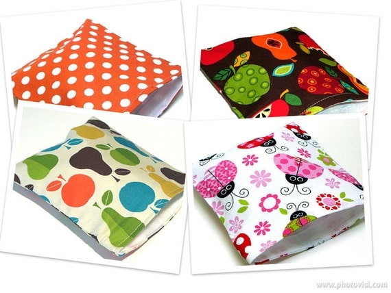 Reusable Sandwich Bags - Receive 4 Bags at a Discounted Price