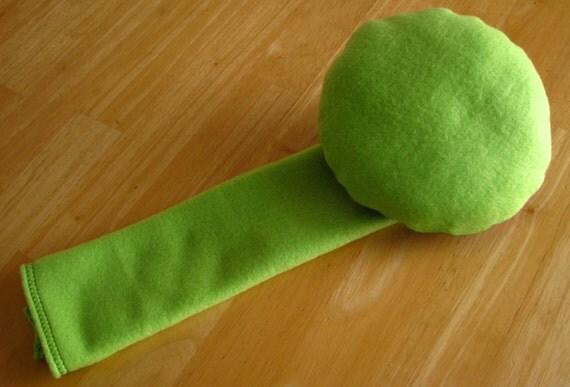 Seatbelt Pillow by SleepyTimez - Lime