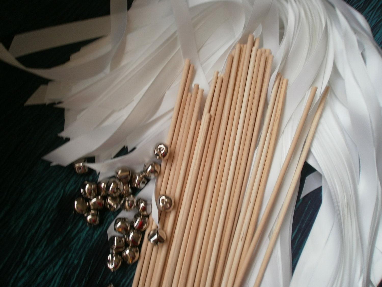 Cheap wedding wands diy wedding wands for Wedding wands