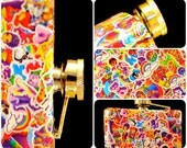4 oz Totally 90's Bitchin' LISA FRANK Flask