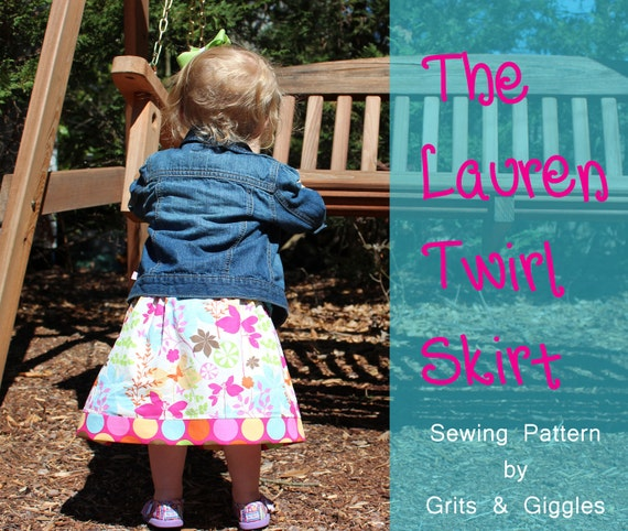 PDF Pattern-The Lauren Twirl Skirt