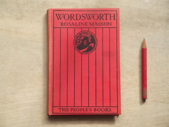 Wordsworth biography book by Rosaline Masson
