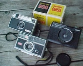 A Trio of Funky Old Cameras ( Instant  Collection ) - ChipandRusty