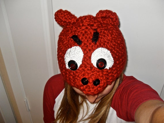 Crocheted Hot Hat
