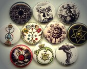 "ALCHEMY Transmutation Ancient SYMBOLS 10 Pinback 1"" Buttons Badges Pins - Yesware"