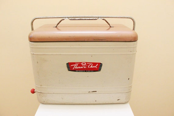 Knapp Monarch Therma-a-Chest Beer & Picnic Cooler // Ice Chest // St. Louise USA