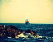 Peaceful Sailboat on Water 8x10 Photo Print - ItRunsInTheFamily