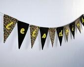 let's drink -- lined birthday/bachelorette/party pennant banner - jordandene