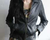 Leather jacket small - lipstickonyourcollar