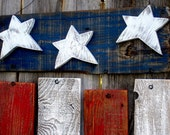 Rustic Reclaimed Wood Americana Flag Fourth of July Memorial Day President's Day Decor - SoPurdyCreations