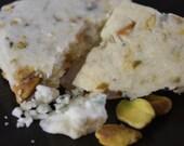 Savory Gorgonzola-Pistachio Shortbread by BakeCraft-artisan savory shortbread perfect for snacks