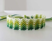 Sour Apple, Woven Wish Bracelet Friendship Bracelet - SlyRaven