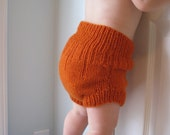100% Wool Diaper Cover/ Shorties, Made to Order, Newborn, Small, Medium, Large, X-Large, Boy or Girl.