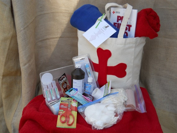 First Aid Bag for dogs and cats...