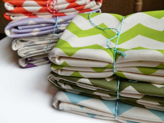 Childrens Blanket, Chevron, Choose Your Color, Soft Organic Cotton, Chevron Kids Blanket