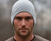 Mens Slouch Hat  CUSTOM ORDER - AWalkInTheWoodsKnits