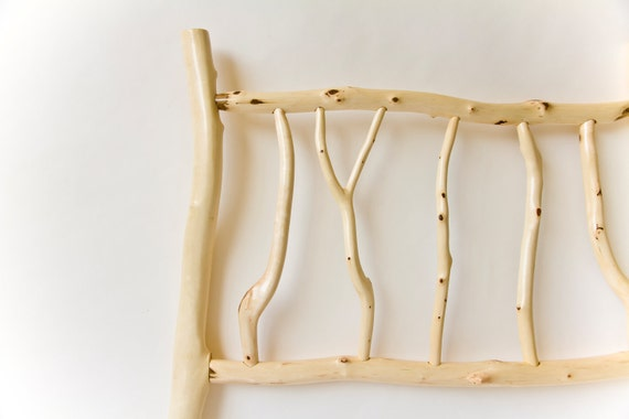 Whimsical Log Bed
