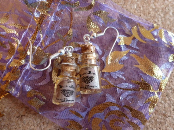 Harry Potter Butterbeer Earrings