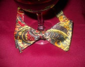 COLORFUL FLORAL Silk Bowtie
