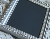 Gold and Silver 5x7 Vintage Chalkboard Frame