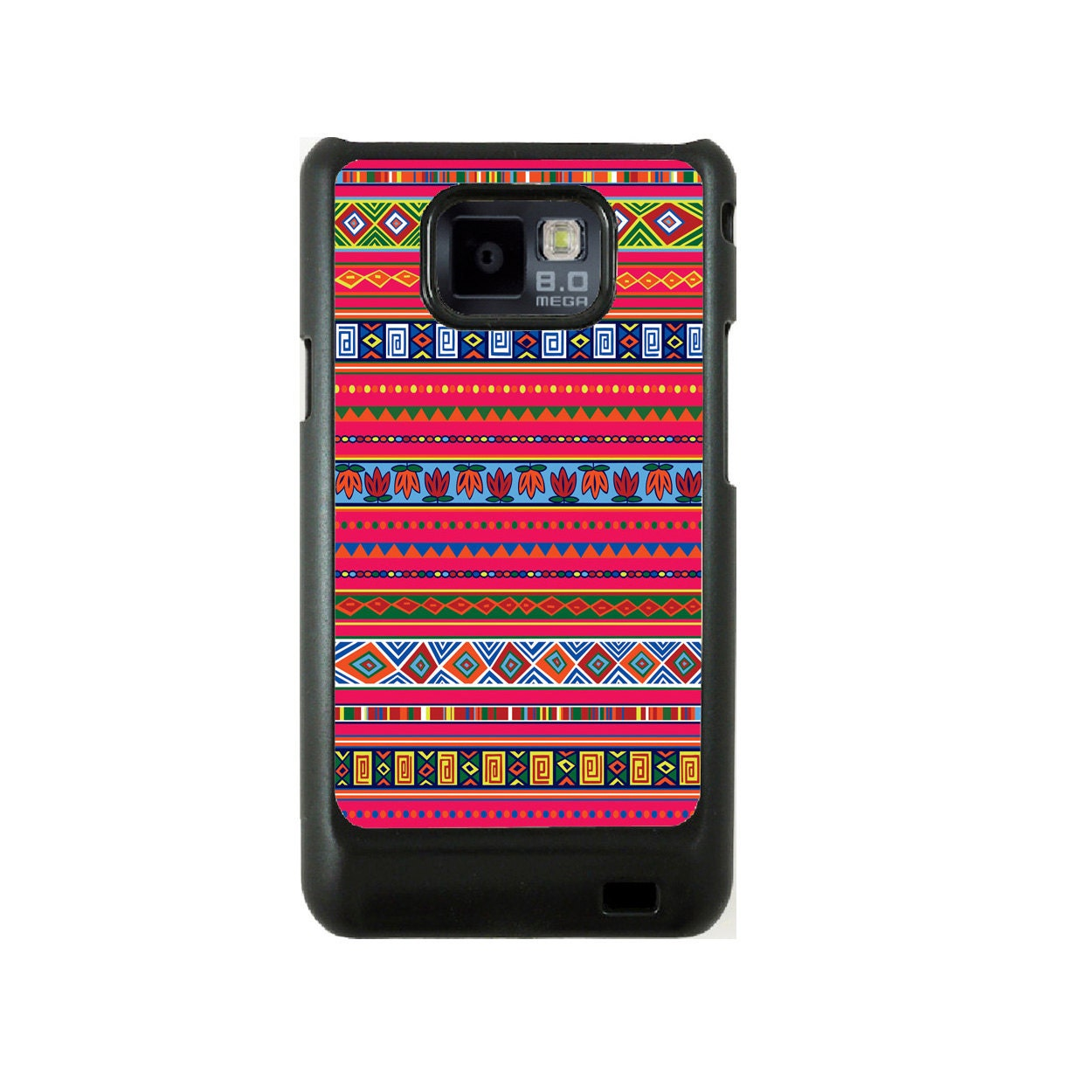 Aztec Samsung Galaxy S2 case, i9100 cover, Samsung Galaxy SII cover ...