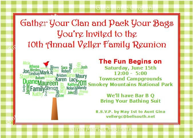 family reunion invitation letter templateshare on family