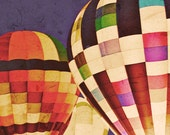 Hot Air Balloons ACEO - fine art print - carnival photography - limited edition