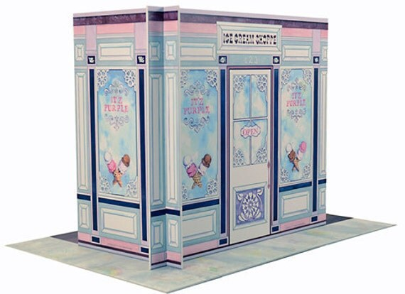 American Girl Dollhouse with Ice Cream Shoppe